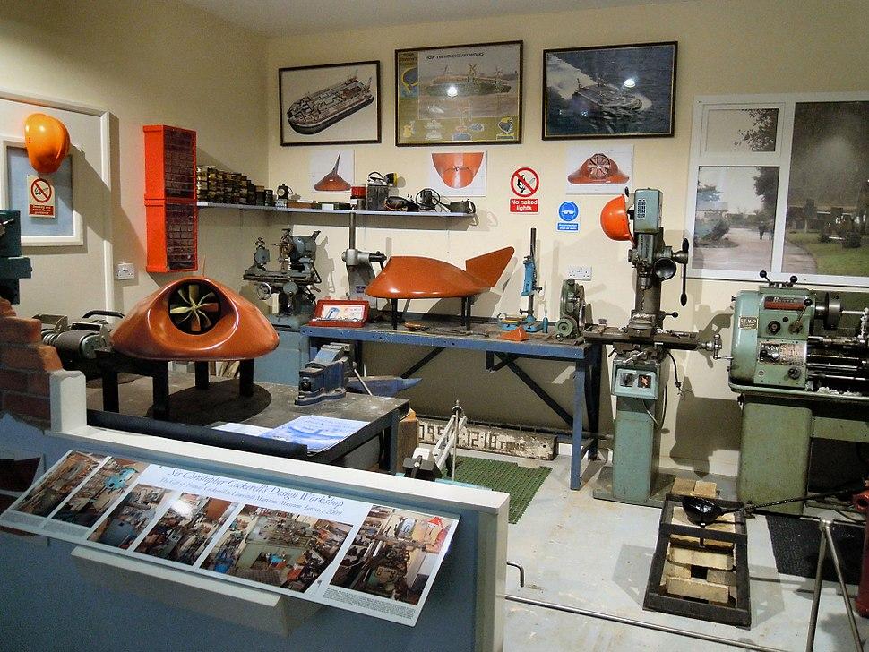 Lowestoft Maritime Museum Workshop