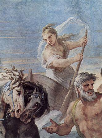 Iris (mythology) - Iris, by Luca Giordano