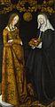 Lucas Cranach the Elder - Saints Christina and Ottilia - Google Art Project.jpg