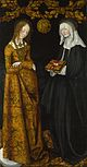 Lucas Cranach the Elder - Saints Christina and Ottilia - Google Art Project.jpg