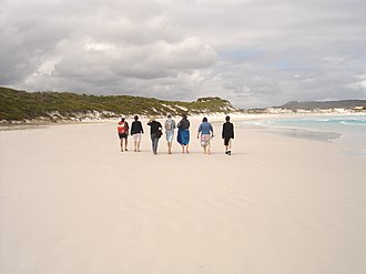 Cape Le Grand National Park - Image: Lucky Bay beach