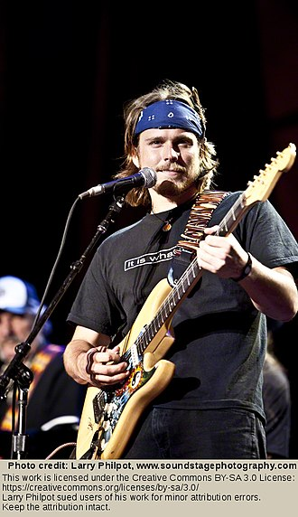 Lukas Nelson & Promise of the Real - Lukas Nelson performing at Farm Aid, 2009