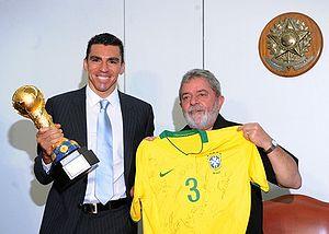 Lúcio - Lúcio and Brazilian President Lula in 2009