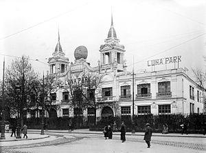 Luna Park, Paris - Luna Park in 1923