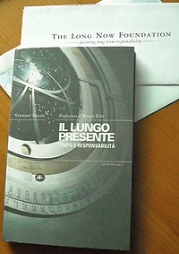 The Clock of the Long Now cover