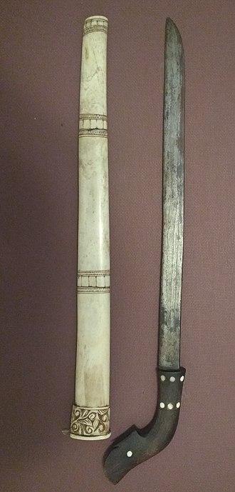 Luwuk (sword) - A luwuk sword from Central Java.