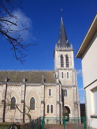 Église Saint-Odilon de Lux