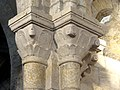 Luzarches (95), église Saint-Côme-Saint-Damien, chœur, 2e doubleau, chapiteaux côté nord 1.jpg