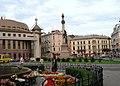 Lwów , Polish , now Lviv, Ukrainian, Львів - ADAM MICKIEWICZ SQUARE - panoramio - MARELBU.jpg