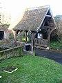 Lych gate for the church of St John the Baptist, Barham - geograph.org.uk - 1130561.jpg