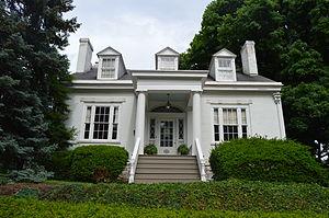 Lyman Trumbull - Front of Trumbull's house in Alton