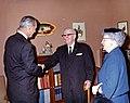 Lyndon Johnson with the Trumans.jpg