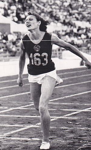 Lyudmila Shevtsova - Lyudmila Shevtsova at the 1960 Olympics