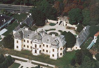 Jakab Fellner - Lamberg Castle in Mór