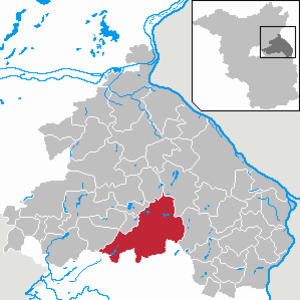 Müncheberg - Image: Müncheberg in MOL