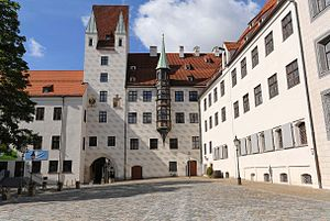Bavaria-Munich - ''The Old Court'' in Munich