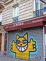 M. Chat dans le mistral, Paris 18e (19410374250).jpg