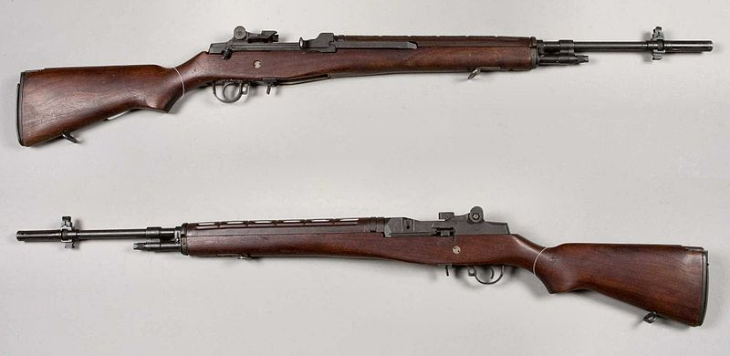 File:M14 rifle - USA - 7,62x51mm - Armémuseum.jpg