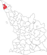 Väsby landskommune i Malmöhus amt