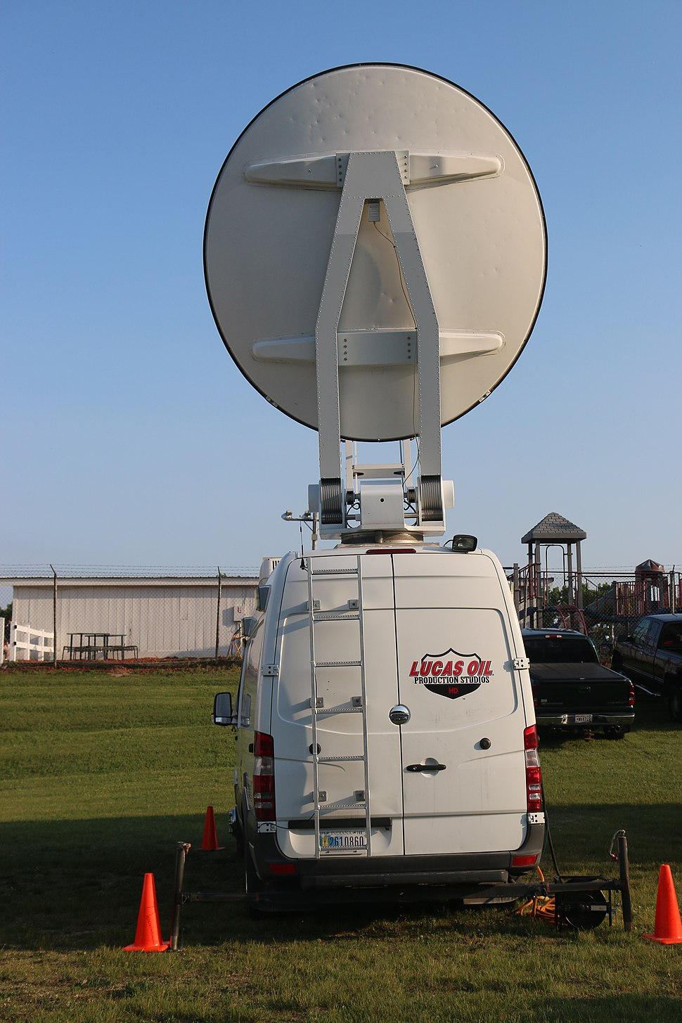 MAVTV broadcast truck ARCA Madison 2018