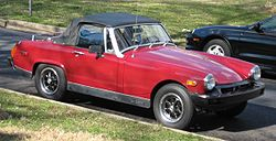 MG Midget USDM convertible