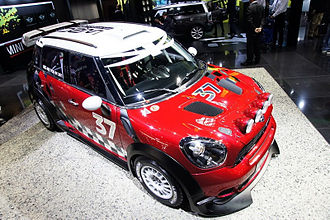 2010 Paris Motor Show - Mini Cooper WRC at Paris 2010