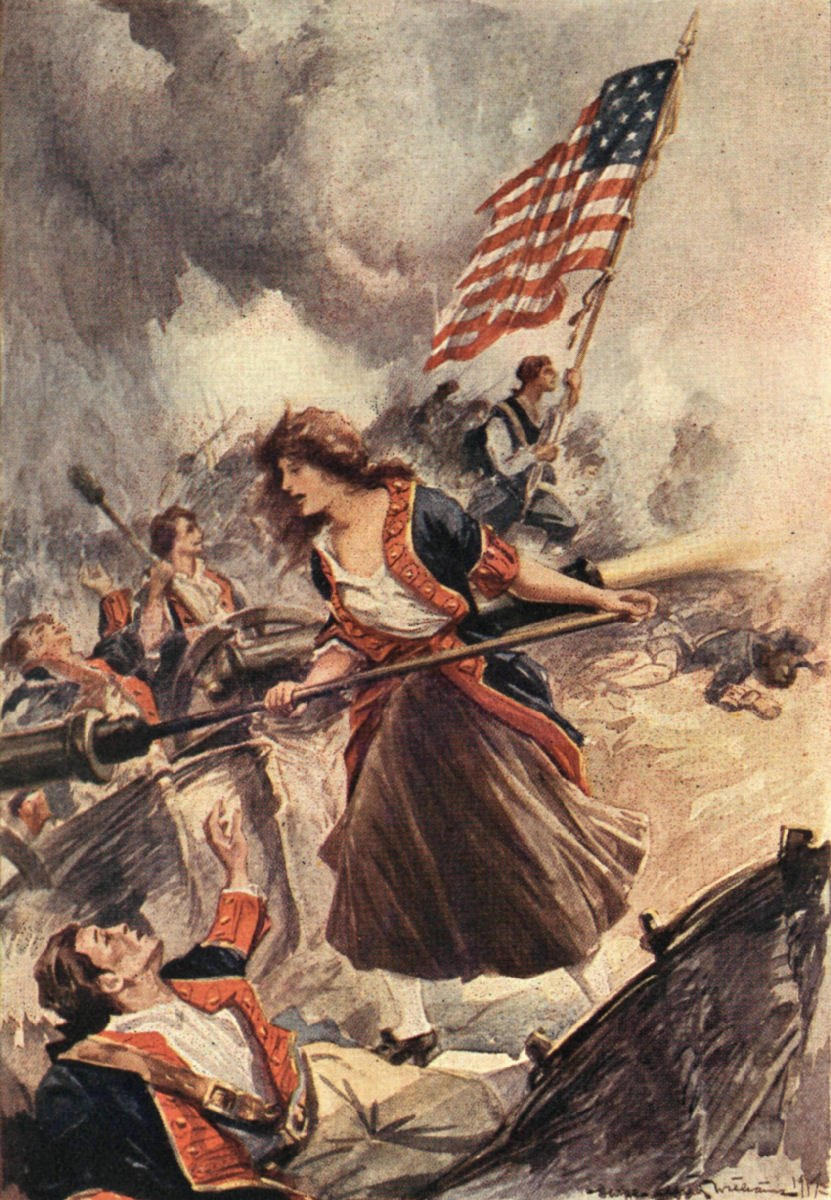 MOLLY PITCHER. (Ten American Girls from History 1917)