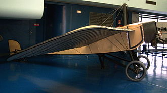 Morane-Saulnier H - Morane Saulnier Type H on display at the Musée de l'Air et de l'Espace at Paris Le Bourget airport