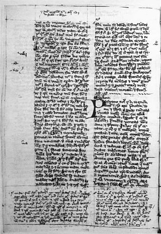 Meister Eckhart - Manuscript Soest, Stadtarchiv und Wissenschaftliche Stadtbibliothek, Codex Nr. 33, folium 57 verso, a–b