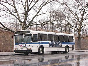 MTA New York City Transit Orion #5896 (mislabe...