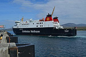 MV Finlaggan at Port Askaig