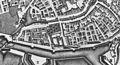 Maastricht, omgeving Nieuwenhofwal, detail kaart Larcher d'Aubencourt, 1749.jpg