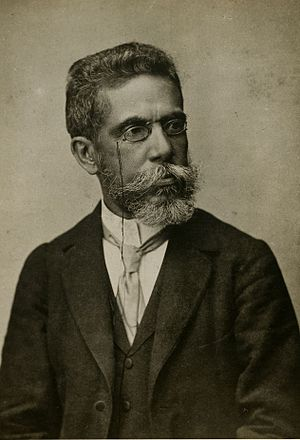 Brazilian literature - Image: Machado de Assis aos 57 anos