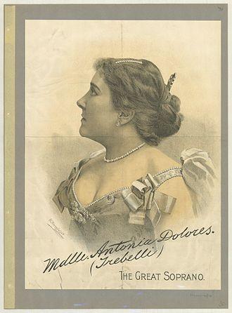 Zelia Trebelli-Bettini - Image: Mademoiselle Dolores