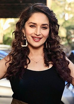 Madhuri Dixit promoting Total Dhamaal in 2019 (cropped).jpg
