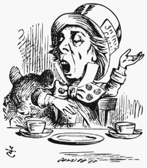 English: The Mad Hatter, illustration by John ...