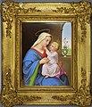 Madonna mit dem Jesuskind, Porzellanmalerei, Bildplatte, D2289.jpg