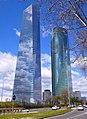 Madrid - CTBA, Torre de Cristal y Torre Espacio 16.jpg