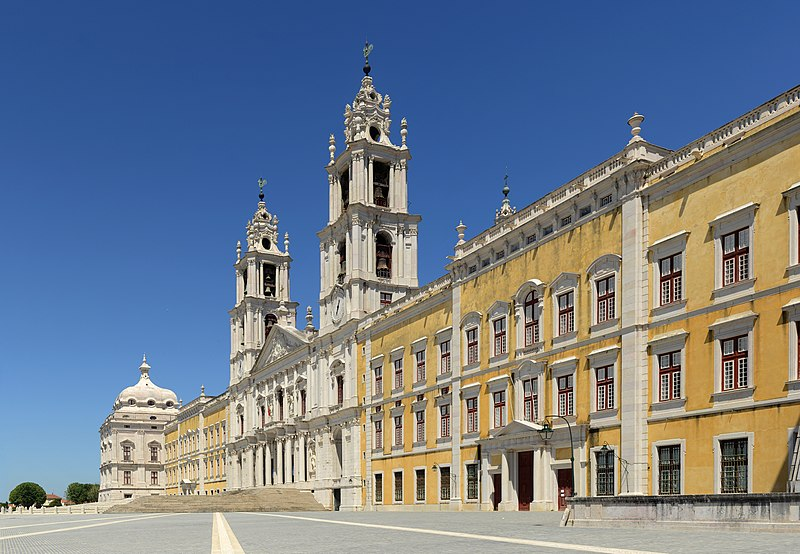 Mafra National Palace.  From An Architectural Tour of Portugal