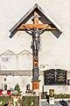 Magdalensberg Sankt Lorenzen Filialkirche hl. Kruzifix S-Wand 11012019 5872.jpg