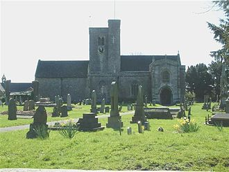 Magor, Monmouthshire - St. Mary's Church, Magor