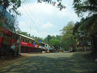 Athirampuzha Place in Kerala, India