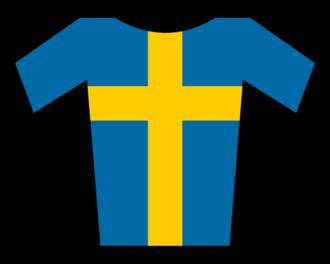 Magnus Bäckstedt - Image: Maillot Suecia