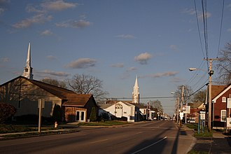 Mascoutah, Illinois - Main Street, 2006
