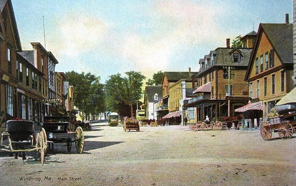 Main Street, Winthrop, ME