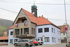 New town hall of Breitenbach