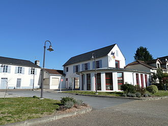 Siros, Pyrénées-Atlantiques - The town hall of Siros