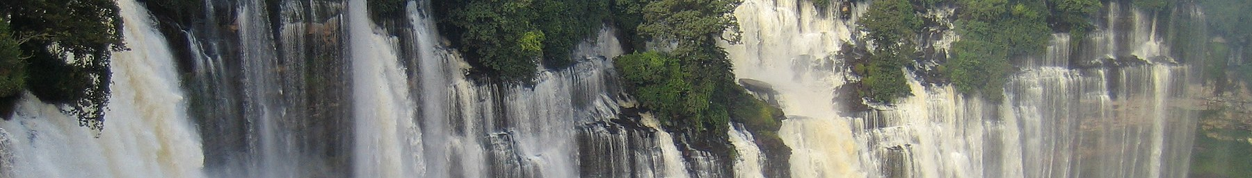 Kalandula waterfalls in Malange