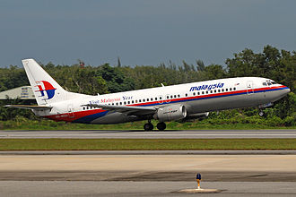 Boeing 737 Classic - Malaysia Airlines 737-400