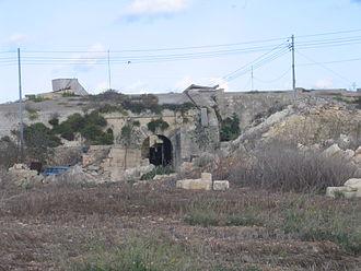 Fort Leonardo - Main gate of Fort Leonardo